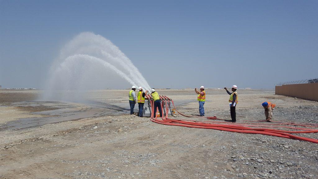 Al Musannah Air Base Flow Test