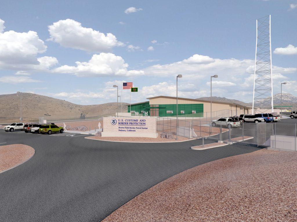 Brown Field Border Patrol Station