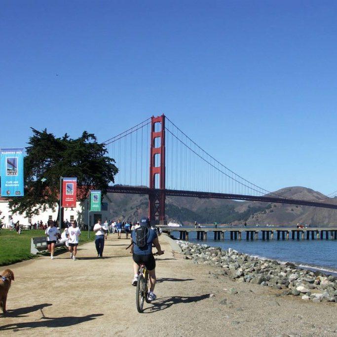 Park Near Golden Gate Bridge