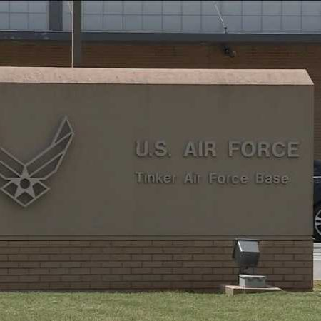 Tinker Air Force Base sign